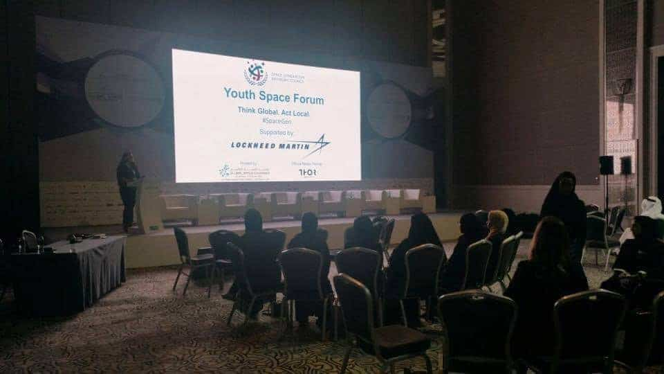SGAC hosted their first Youth Space Forum in conjunction with the Global Space Congress in the Middle East