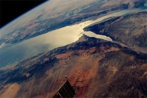 Looking west over the Red Sea, Saudi Arabia and Egypt. #EarthArt from the amazing International Space Station. Credit: Shane Kimbrough, ISS, NASA.