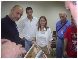 Workshop with Dr Erika Podest, a Panamanian national working at the JPL (Jet Propulsion Laboratories)