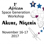 1st African Space Generation Workshop