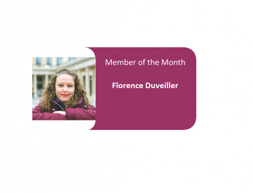 Member of the Month for July 2019