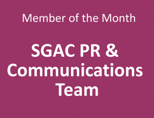 Member of the Month for June 2020: SGAC PR & Communications Team