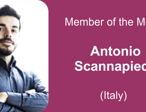 Member of the month for December 2020: Antonio Scannapieco