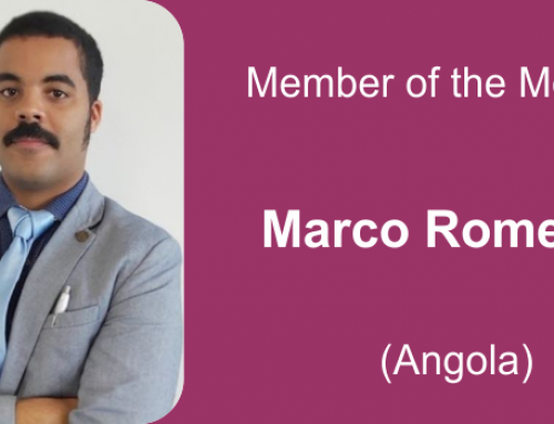 Member of the month for January 2021: Marco Romero