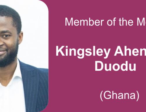 Member of the month for February 2021: Kingsley Ahenkora & Charles-Aimé