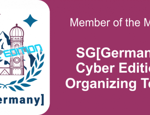 Member of the month for March 2021: SG[Germany] Cyber Edition Organizing Team