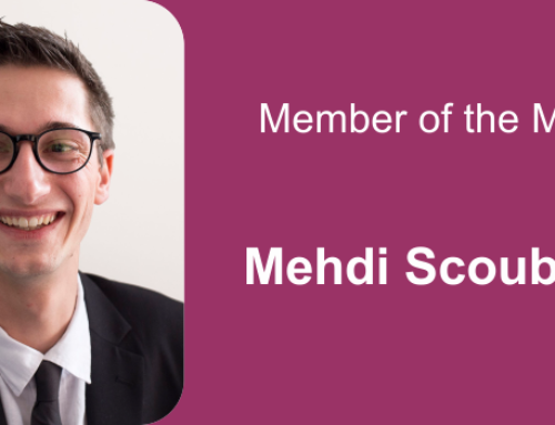 Member of the month for April 2021: Mehdi Scoubeau