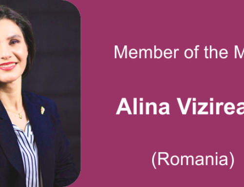 Member of the month for May 2021: Alina Vizireanu